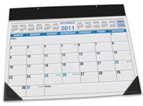 Paper Desk Blotter Calendar Refills